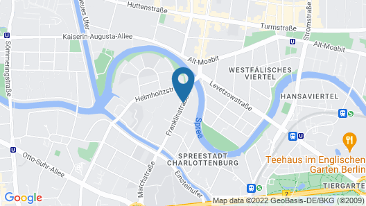 Select Hotel Style Berlin Map