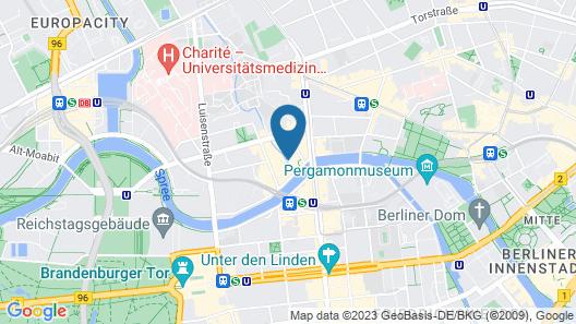 Leonardo Hotel Berlin Mitte Map