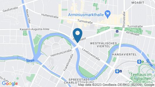 adrema hotel Map