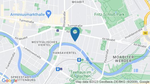 Ameron Hotel Abion Spreebogen Berlin Map