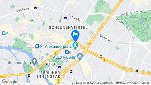Park Inn by Radisson Berlin Alexanderplatz Map