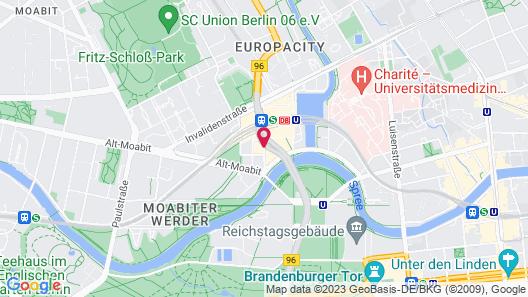 Steigenberger Hotel Am Kanzleramt Map
