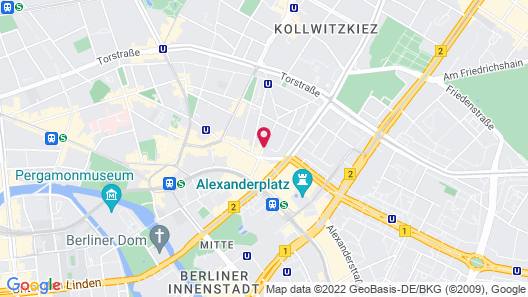 Lux 11 Berlin Mitte Map