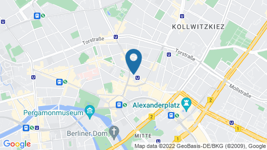 The Weinmeister Berlin-Mitte-Adults Only Map