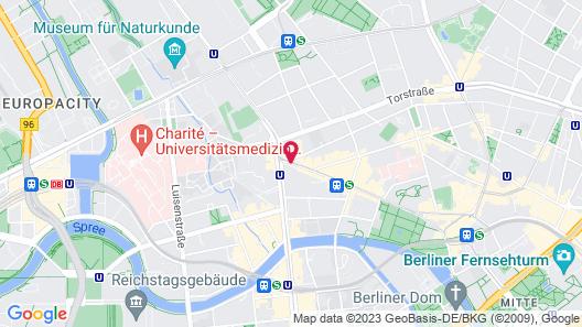 ARCOTEL Velvet Berlin Map