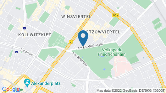 Victor's Residenz-Hotel Berlin Map
