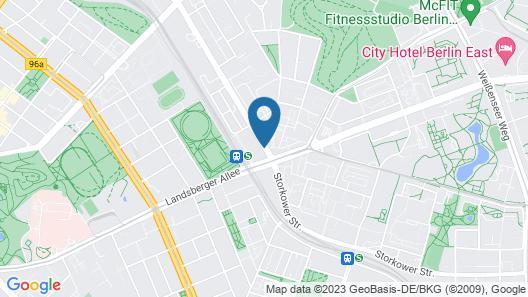 Vienna House Easy Berlin Map