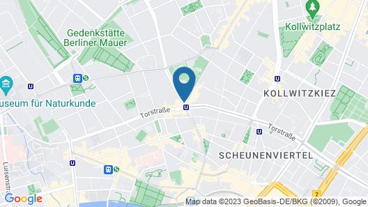 ibis Styles Hotel Berlin Mitte Map