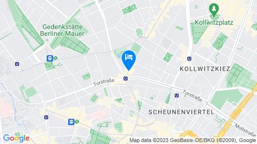 Gorki Apartments Berlin  Map
