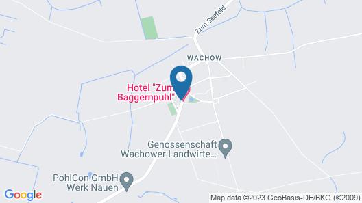 Landhotel Zum Baggernpuhl Map