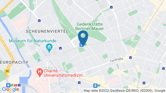 Downtown Apartments Berlin Map