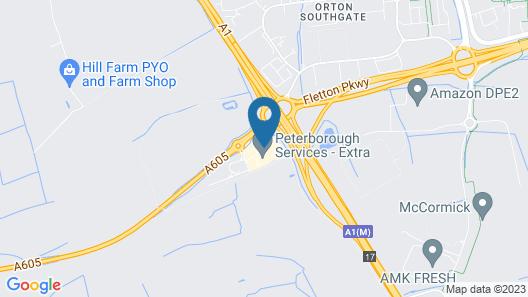 Days Inn by Wyndham Peterborough Map