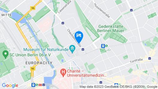 TITANIC Chaussee Berlin Map