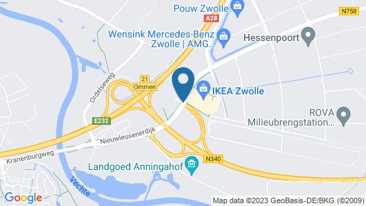 Van der Valk Hotel Zwolle Map