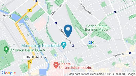 INNSiDE by Melia Berlin Mitte Map