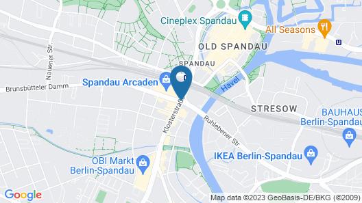 ibis Berlin Spandau Map