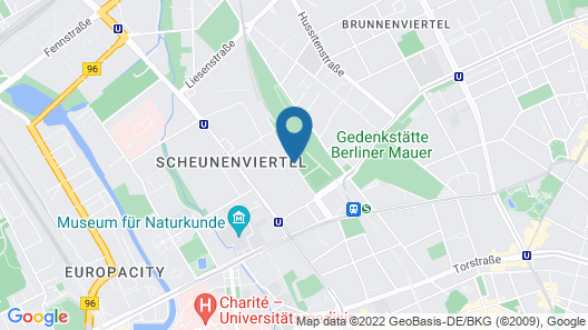 CLUB Lodges Berlin Mitte - Hostel Map