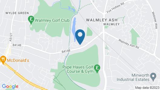 Ramada by Wyndham Birmingham Sutton Coldfield Map