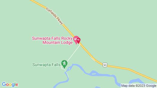 Sunwapta Falls Rocky Mountain Lodge Map
