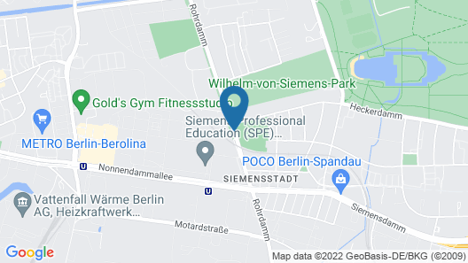 Holiday Inn Berlin City West Map