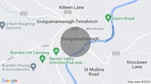 Kilkenny Fairy Hideaway in Converted Barn Map