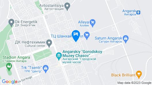 Premium Hotel Pushkin Map