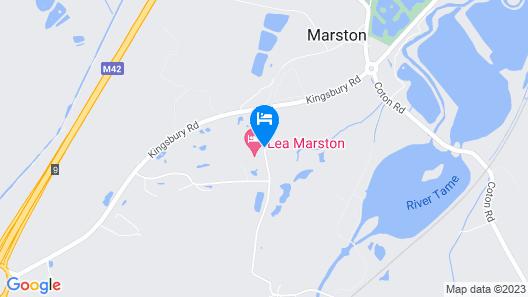 Lea Marston Hotel Map