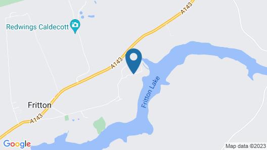 Fritton Lake Retreats Map