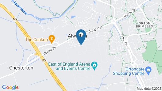 Holiday Inn Express Peterborough Map