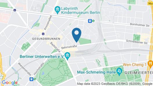 Ocak Apartment & Hotel Berlin Map