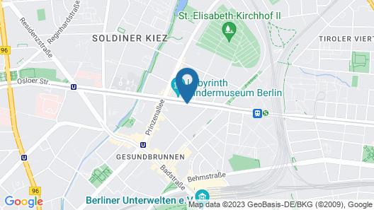 Wyndham Garden Berlin Mitte Map