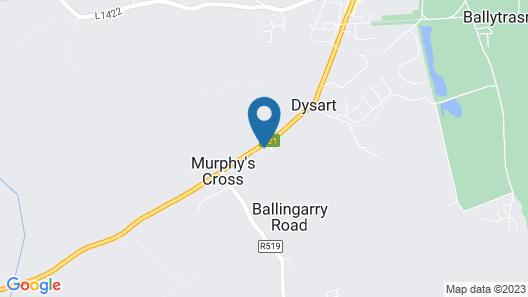 Coatesland House B&B Map
