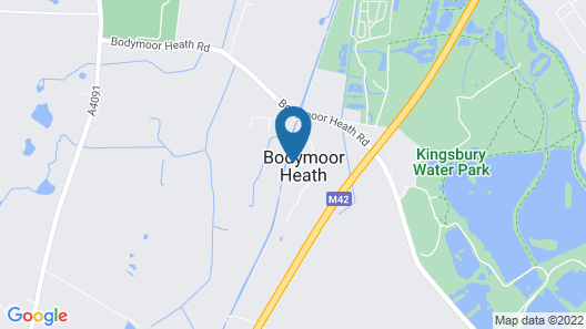 The Dog & Doublet Inn Map