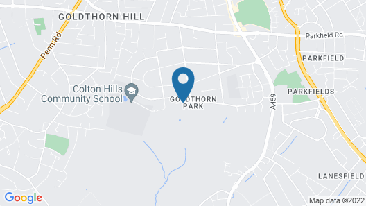 Park Hall Hotel and Spa Wolverhampton Map