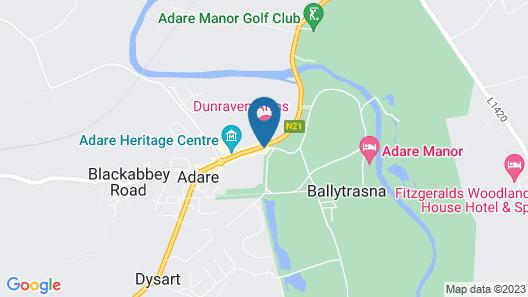Adare Manor Villas Map