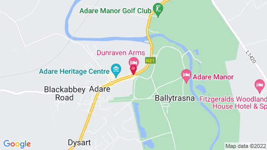 Dunraven Arms Hotel Map