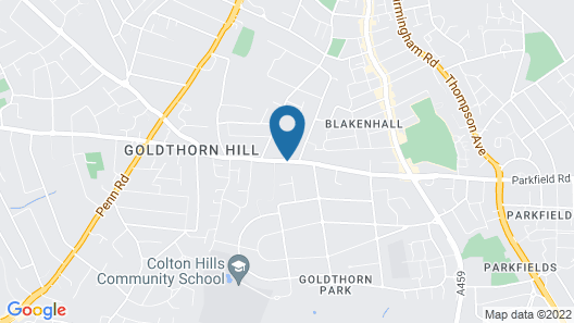 Barons Court Hotel Map