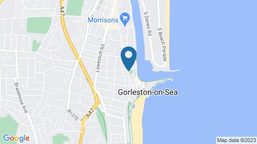 Marina Beach House Map