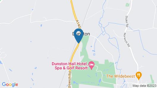 Dunston Hall Map