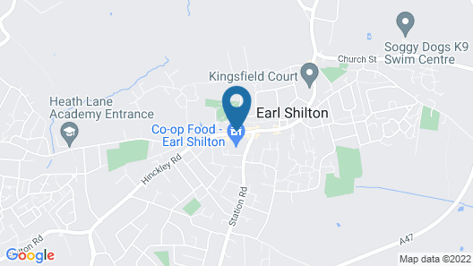 OYO Shilton Inn Map