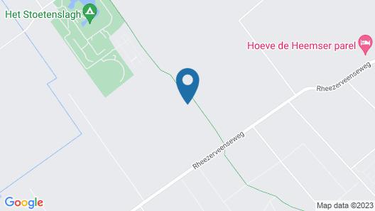 Villa on an Estate in Rheezerveen With Garden Map