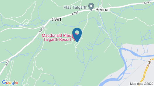 Macdonald Plas Talgarth Holiday Resort Map