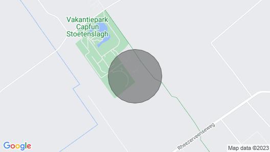 Bungalow Near Slagharen and Hardenberg Map
