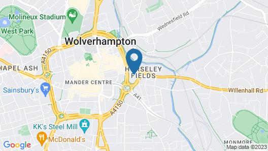 Novotel Wolverhampton Map