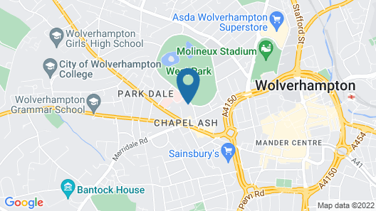 A Park View Hotel Map