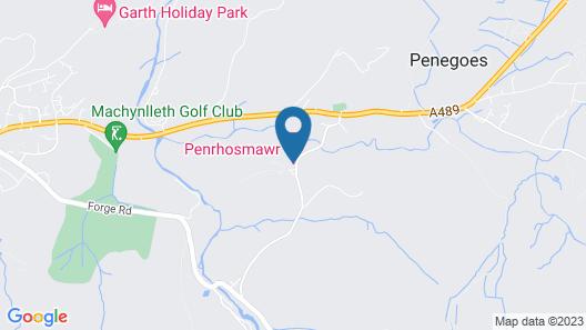 Penrhosmawr B&B Map