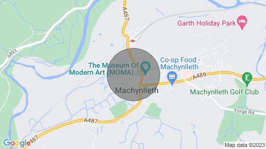 Bwthyn Gweilch (Osprey Cottage) Map