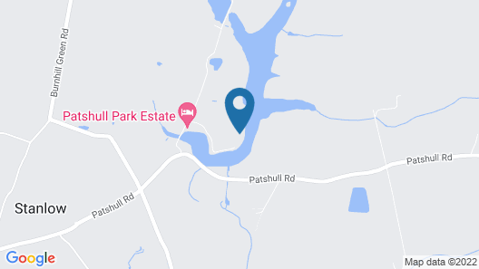 Patshull Park Hotel Golf and Country Club Map