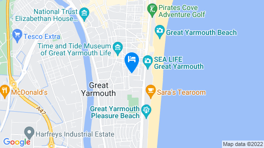 St George Hotel Map