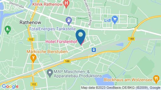 Hotel Fürstenhof Map